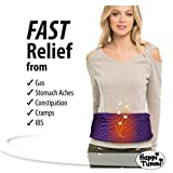 Happi Tummi - Menstrual Cramp Relief Natural Soothing Herbal Aromatherapy and Heating Pad - Large X-Large Lavender