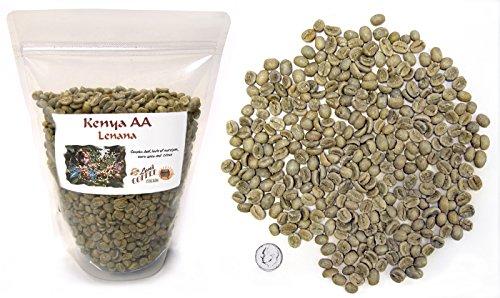 green coffee beans kenya aa - 7