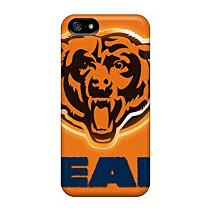 Hot Fashion AOT4246Tgbq Design Case Cover For Iphone 5/5s Protective Case (chicago Bears)