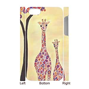 TOSOUL Giraffe 2 Phone 3D Case For Iphone 4/4s [Pattern-5]