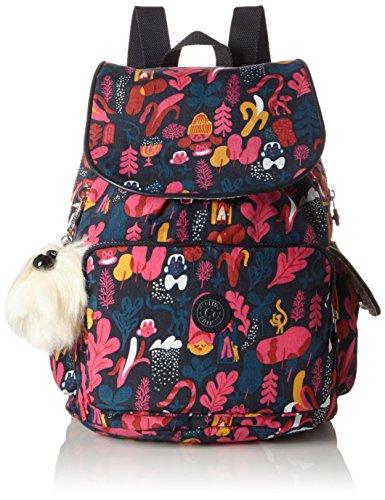 Kipling Women's City Pack Backpack Handbag, Multicolor (37W Sanna Print 2), 32x37x18.5 cm (B X H X T)