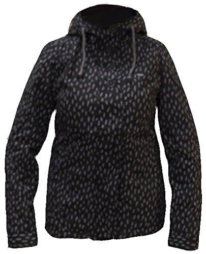 Ragwear Lynx Spot Jacket Womens Anthracite RFL 14J10 Jacke Winterjacke Damen (Jacke Damen)