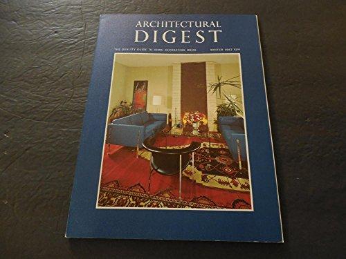 Architectural Digest Winter 1967 Owens-Thomas House; Elizabeth Arden