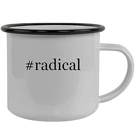 Amazon com | #radical - Stainless Steel Hashtag 12oz Camping Mug
