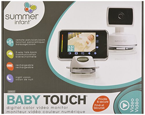 Summer Infant Baby Touch Pan/Scan/Zoom Video Baby Monitor, 3.5'' by Summer Infant (Image #6)