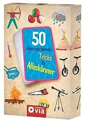 50 überraschende Tricks für Alleskönner: Karten mit Tricks und Kunststücken, die beeindrucken