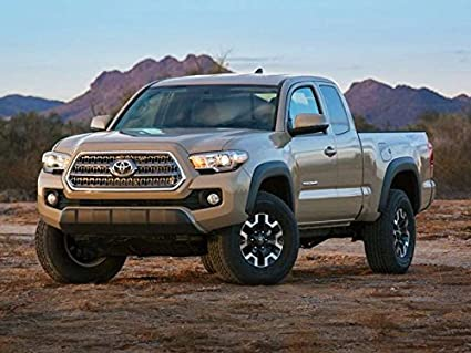 Amazon com: Peel-n-Stick Poster of 2017 Toyota Tacoma Car