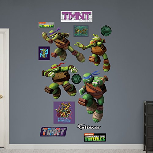 Fathead Teenage Mutant Ninja Turtles Turtle Power Collect...