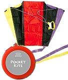 Pocket kite / POCKET KITE case color: housed in a red pocket-sized