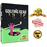 The Golfing Dead - Only One Survives - Best Zombie Card Game for Family, Adults, Kids, Teens, Ages 7 Years and Up. Classic Golf with Funny Twists! Fun for Parties or Competitive Friends - 2-6 Players.