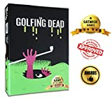 The Golfing Dead Only One Survives - Best Zombie Card Game for Family, Adults, Kids, Teens, Ages 7 Years and Up. Quick and Easy Trending Fun 2-6 Players.