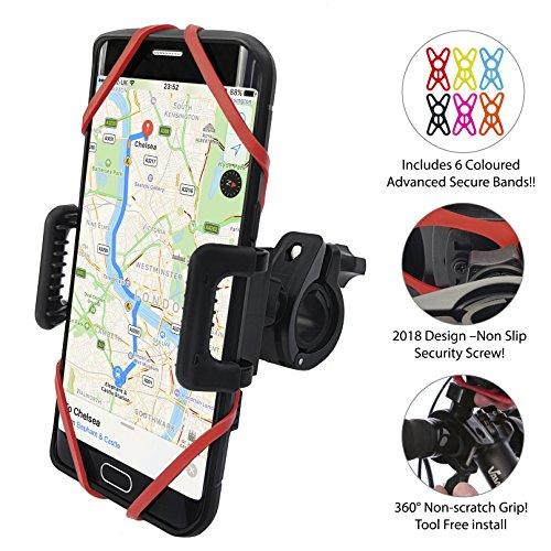 [NEW 2018 PREMIUM EDITION!!] Anti-Shake Universal Phone Holder Mount for...