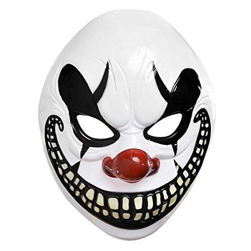 [Amscan Halloween Circus Freakshow Clown Mask] (Halloween Clowns)