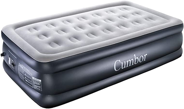 Amazon.com: Cumbor - Colchón de aire para cama queen/twin ...
