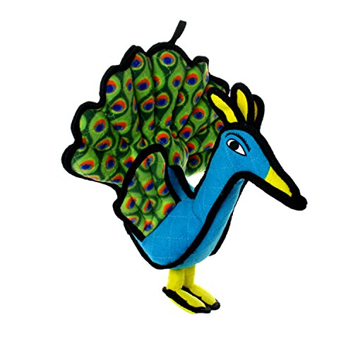 Picture of TUFFY Zoo Animal Peacock, Durable Dog Toy, Large
