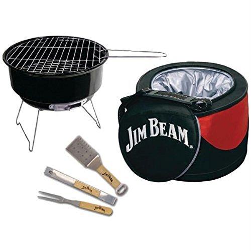 (5-Piece Mini Cooler & Grill Combo BBQ Tools)