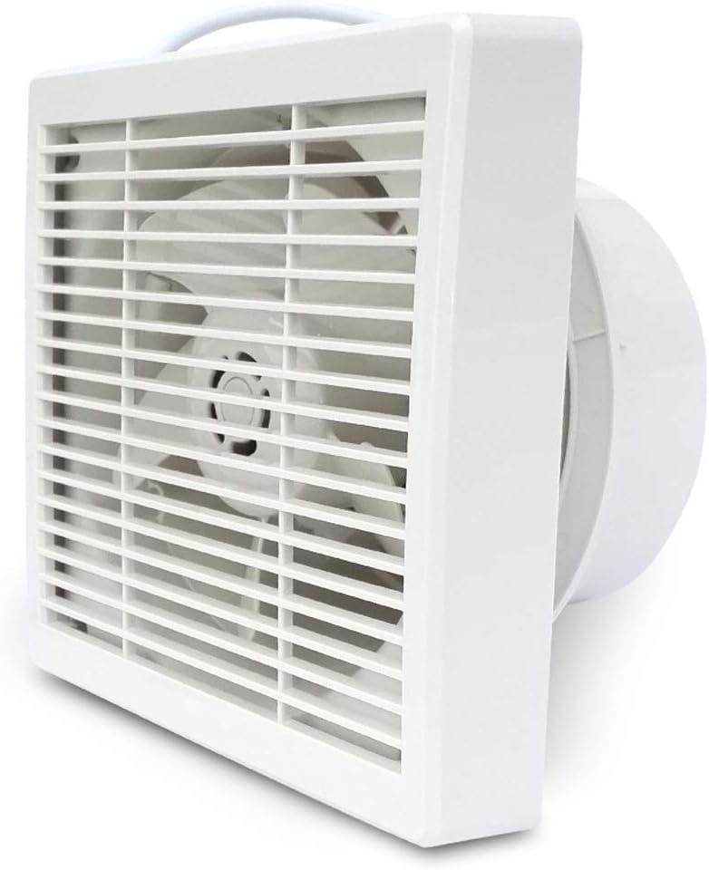 QIQIDEDIAN Ventilador de Escape, Ventilador de ventilación de la Cocina, 12 Pulgadas, Ventilador de la máquina para Fumar, Potente Campana extractora, Ventana, hogar Industrial: Amazon.es: Hogar