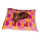 Abstract Patchwork Dog Pillow Luxury Dog Cat Pet Bed