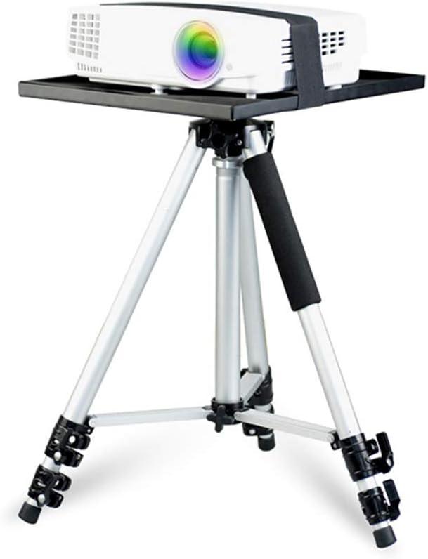 IGRNG Mini proyector Trípode Aleación de Aluminio Luz Bandeja ...
