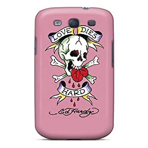 Durable Case For The Galaxy S3- Eco-friendly Retail Packaging(ed Hardy 4)