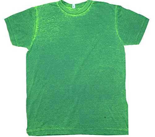 (Colortone Burnout T-Shirt LG Summer Green)