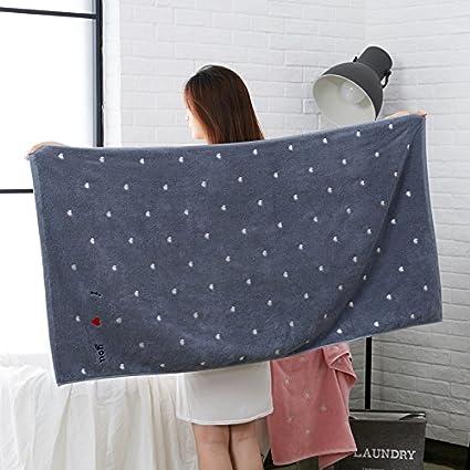 SQYJ toalla de baño SQYJ, algodón puro, adulto, suave, super absorbente,