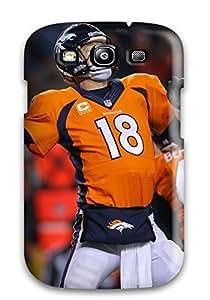 New Denverroncos Tpu Case Cover, Anti-scratch CZrJzJo5348aTGcb Phone Case For Galaxy S3