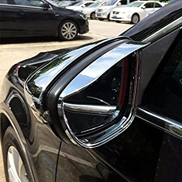HIGH FLYING para Passat B8 Variant Sedan 2015 - 2018 Exterieur Espejo retrovisor Lateral Espejo Styling Listones Cromado ABS plástico 2 Unidades: Amazon.es: ...