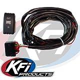 KFI Products UTV-DRS-K UTV Dash Rocker Switch with Blue BackLit/Complete Harness