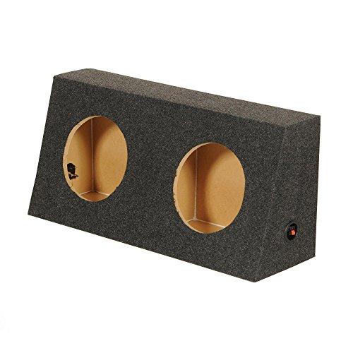Q Power JEEP10 Dual 10-Inch Custom Speaker Box for Jeep Wrangler CJ5/CJ7