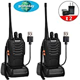 Best Terrain Cases With Belt Clips - Greaval Rechargeable Long Range Walkie Talkies USB Charging Review