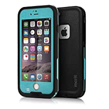 Merit™ iPhone 6 Waterproof Case [New Version] 6.6ft Underwater Waterproof Shockproof Snowproof Dirtpoof Protection Case Cover for iPhone 6 4.7 inch (Blue)