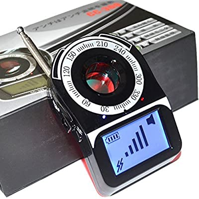 "SpyGear-KSRplayer CC309 1.6"" LCD Surveillance Anti bug Anti-Spy Laser Wireless Signal Full Band Detector Signal Amplification Detector - KSRplayer"