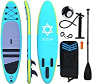 """ALIFUN Inflatable Stand Up Paddle Board 10'5""""×32""""×6"""" Ultra-Light Standing Boat with Non-Sli"""
