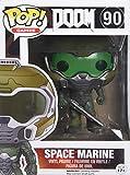 Funko POP Games: Doom - Space Marine Action Figure