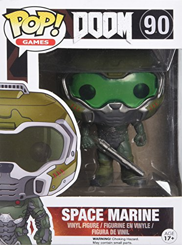 POP! Vinilo - Games Doom Space Marine