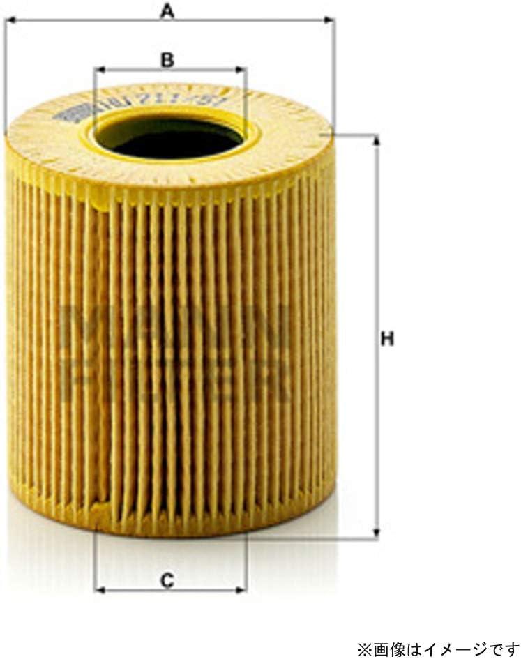 Engine Oil Filter MANN W 713//29