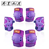 eNilecor Kids Knee Pads, Child Protective Gear Set, Toddler Knee Elbow Pads Wrist
