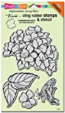 Stampendous Cling Rubber Stamp, ''Hydrangea Garden Jumbo''