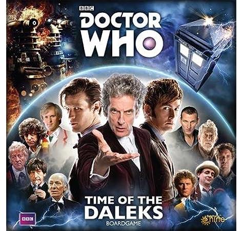 DOCTOR WHO TIME OF THE DALEKS BOARD GAME: Amazon.es: Libros en idiomas extranjeros