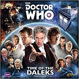 DOCTOR WHO TIME OF THE DALEKS BOARD GAME: Amazon.es: Libros en ...