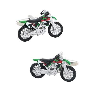 iTemer. 1 Par Gemelos de para Hombres, de Moda Motocross Clips de ...