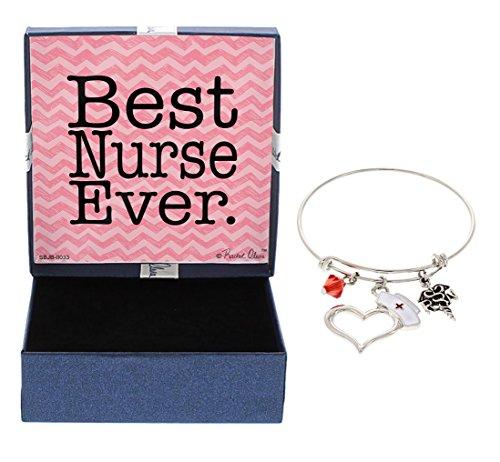 CNA Heart Necklace (Silver) - 7