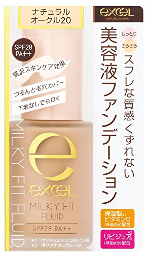Fit Fluid - Excel Milky Fit Fluid MF02 Natural Ochre 20
