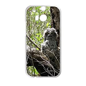 Camo Tree Hybrid Shockproof Protective &Cute Owl Bird Tree Custom Case for HTC One M8 by supermalls