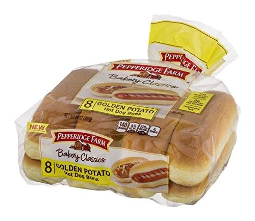 Pepperidge Farm Bakery Classics Golden Potato Hot Dog Buns - 8 CT ()