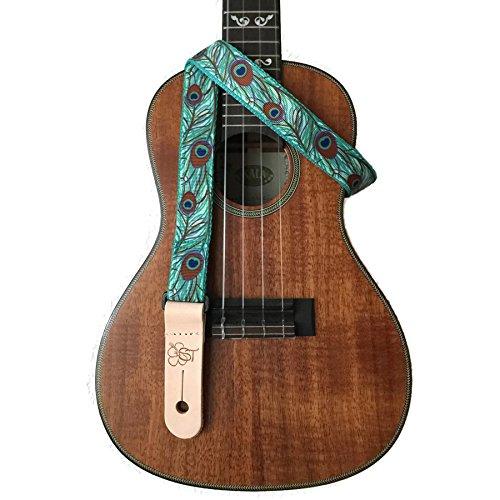 sherrins-threads-1-inch-ukulele-strap-peacock-feathers