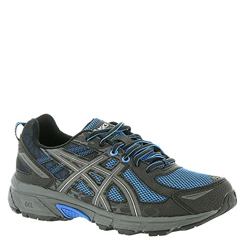 ASICS Mens Gel-Venture 6 Running Shoe, Victra Blue/Blue/Black, 10.5 D(M) US
