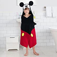 Disneys Mickey Mouse Bath Wrap Hooded Towel