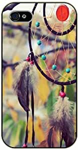 Dreamcatcher, tree background - iPhone 4 / 4s black plastic case / Inspiration by ruishername